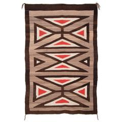 Vintage Navajo Regional Rug, Early 20th Century