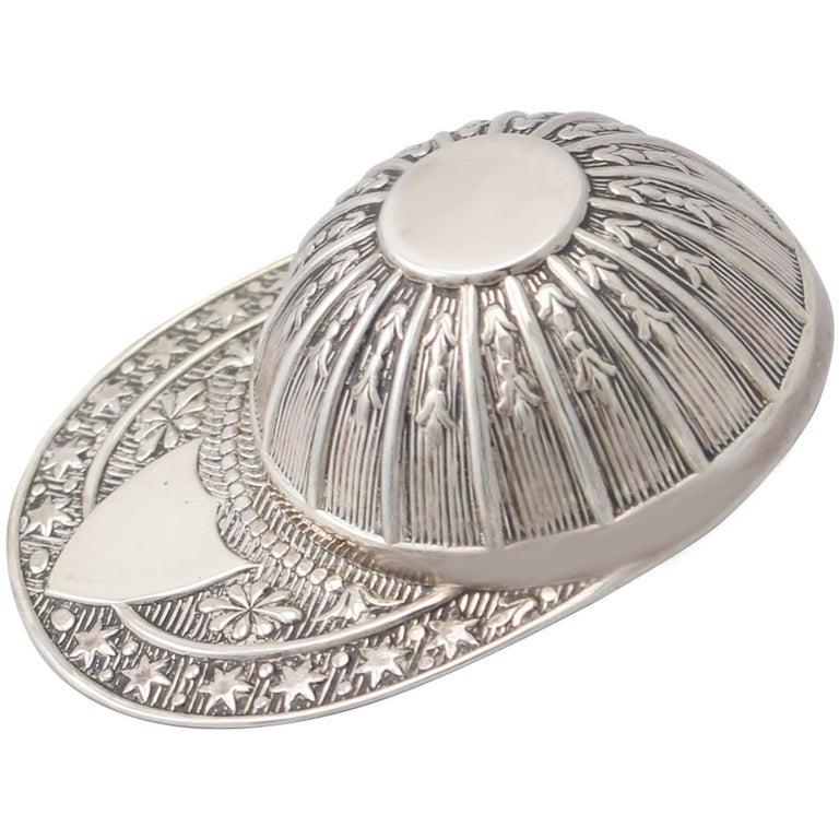 Elizabeth II Sterling Silver Caddy Spoon For Sale