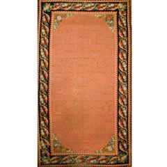 Antique English Needlepoint Gallery Size Rug, circa 1860