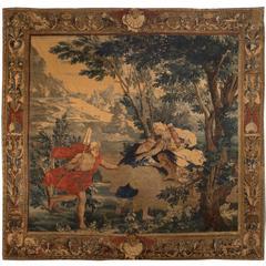Flemish Mythological Tapestry, circa 1700