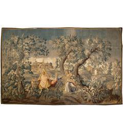 Flemish Pastoral Tapestry, Mid-18th Century