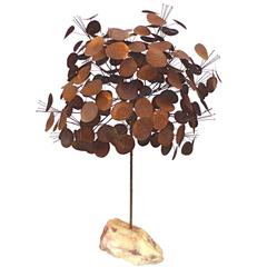Money Tree Sculpture by Curtis Jere