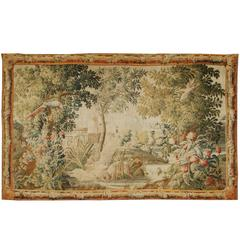18th Century French Verdure Tapestry Probably Aubusson