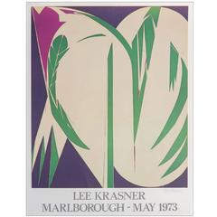 Lee Krasner Signed and Numbered Print