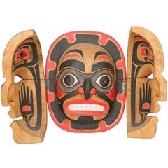 Northwest Coast Transformation Mask