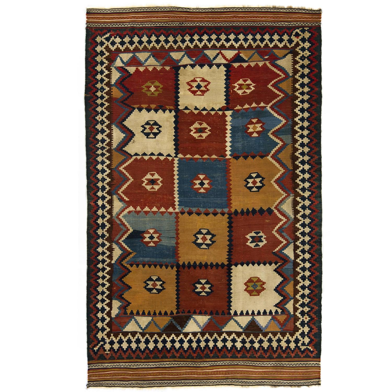 Antique Tribal Qashqai Kilim For Sale At 1stdibs