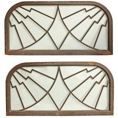 Art Deco Steel Framed Windows