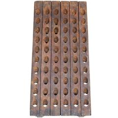 Early 20th Century Wine Riddling Rack