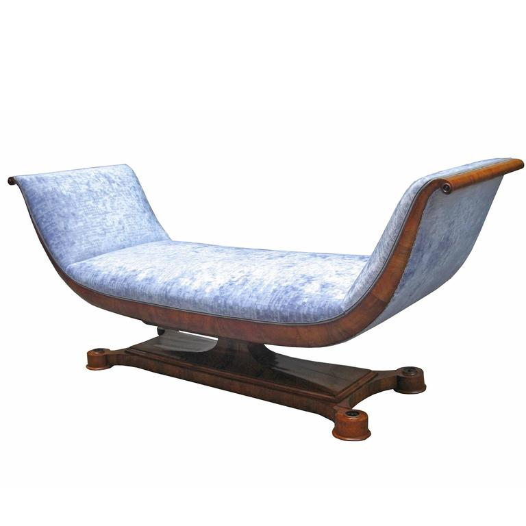 fine and early biedermeier chaise lounge for sale at 1stdibs