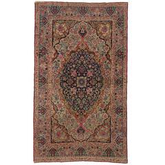 Antique Persian Kermanshah Rug