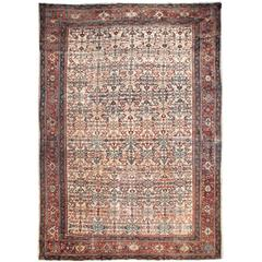 Antique 19th Century Feraghan Rug