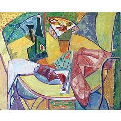 Cubist Still Life, Florence Alston Swift, circa 1940