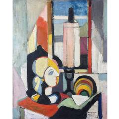 Maurice Grosmann, Abstract Still Life, circa 1948
