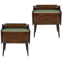 Pair of 1950's Italian Night Stands