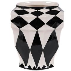 Austrian Secession Period Ceramic Vase by Keramos, circa 1925