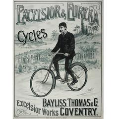 Vintage Bicycle Poster