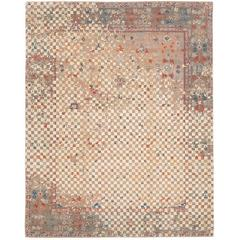 Sultanabad Madison Checker Raved from Erased Heritage Collection by Jan Kath