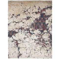 Tabriz Canal Aerial from Erased Heritage Carpet Collection by Jan Kath