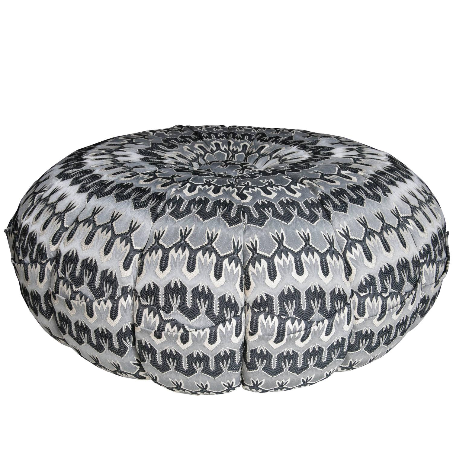 puntaspillone pouf by missoni for sale at stdibs -