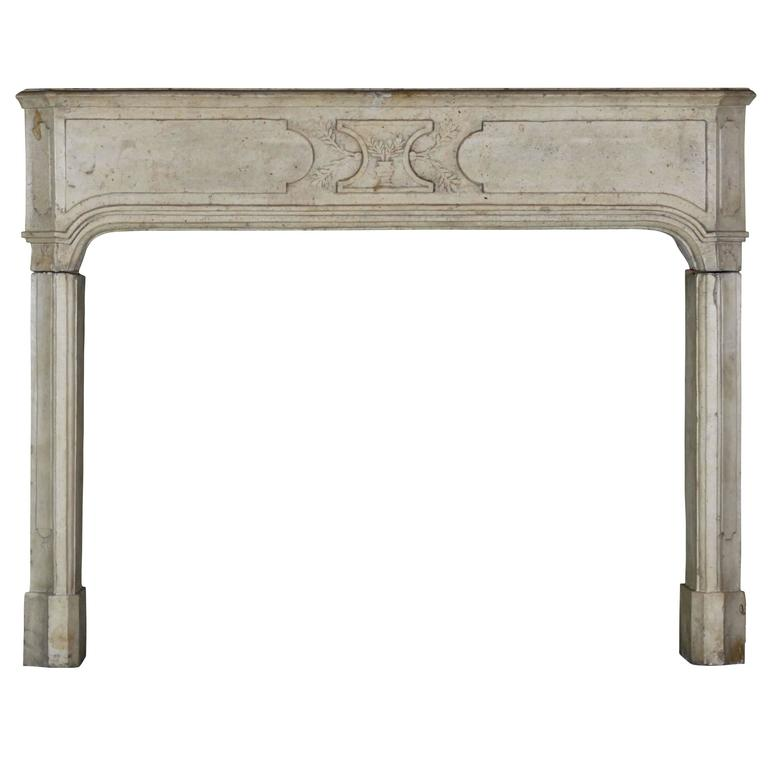 Early 18th Century Hard Stone antique fireplace Mantel