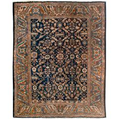 Antique circa 1880 Sultanabad Rug