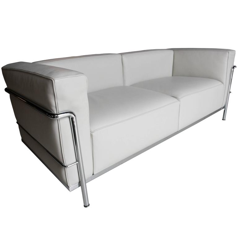 cassina lc3 sofa at 1stdibs. Black Bedroom Furniture Sets. Home Design Ideas