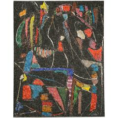 "André Lanskoy, Mosaic ""Black Background"""