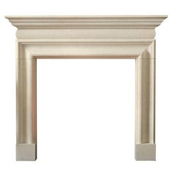 Georgian Style Mantel in Limestone