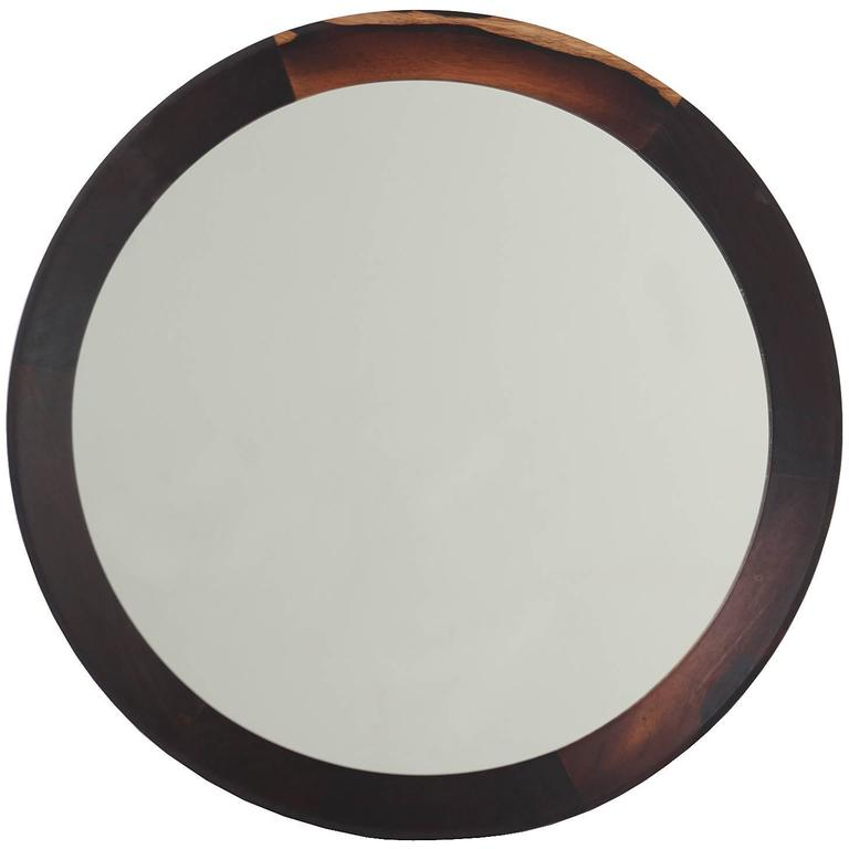 Rosewood Mirror from Brazil