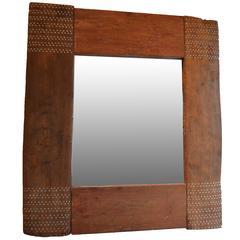 Shell Inlay Mirror