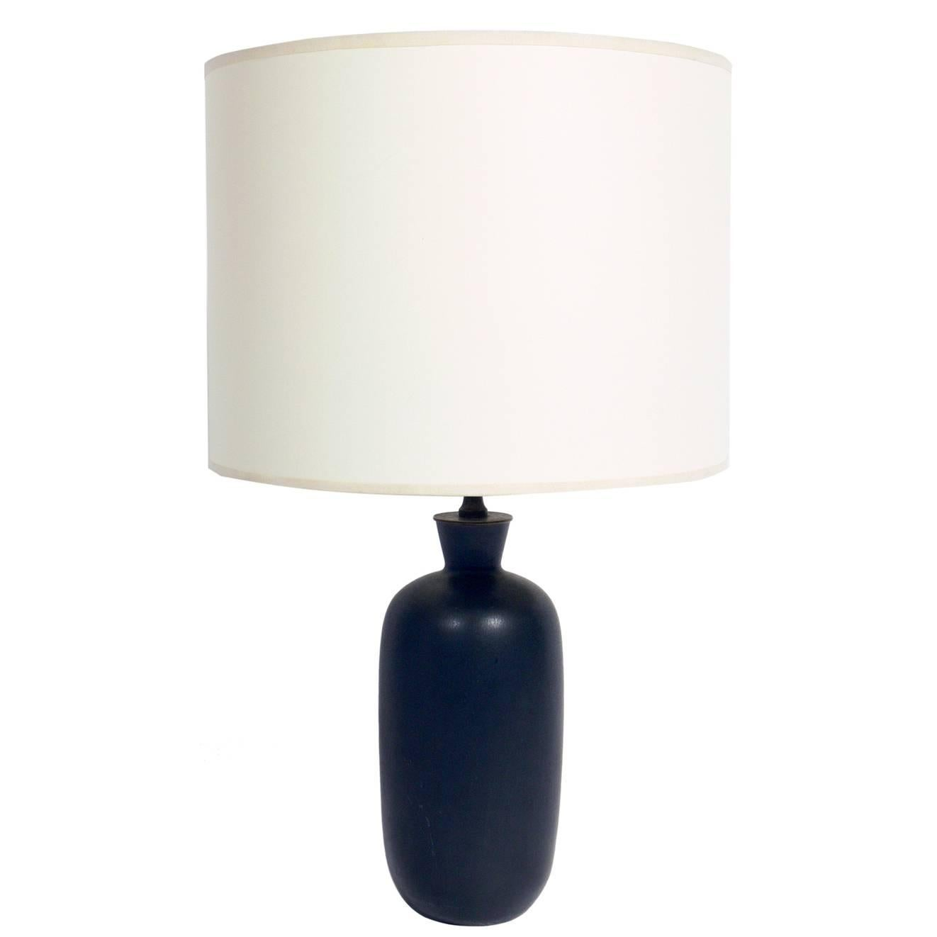 Scandinavian Modern Ceramic Lamp by Carl Harry Stalhane