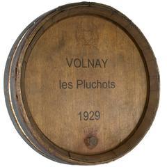 1929 Volnay Wine Casket Face