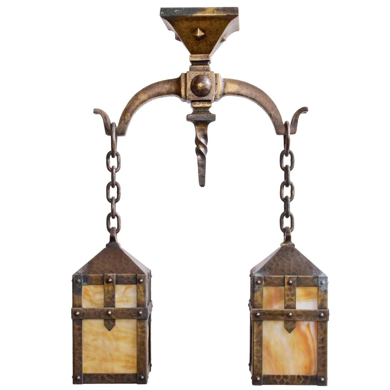 Arts And Crafts Pendant Lighting