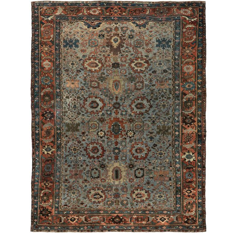 Late 1800s Antique Persian Sultanabad Rug At 1stdibs