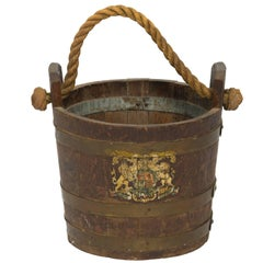 19th Century English Fire Bucket