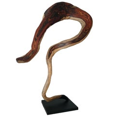 Andrianna Shamaris Sono Wood Sculpture