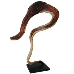 Andrianna Shamaris Sono Wood Sculpture