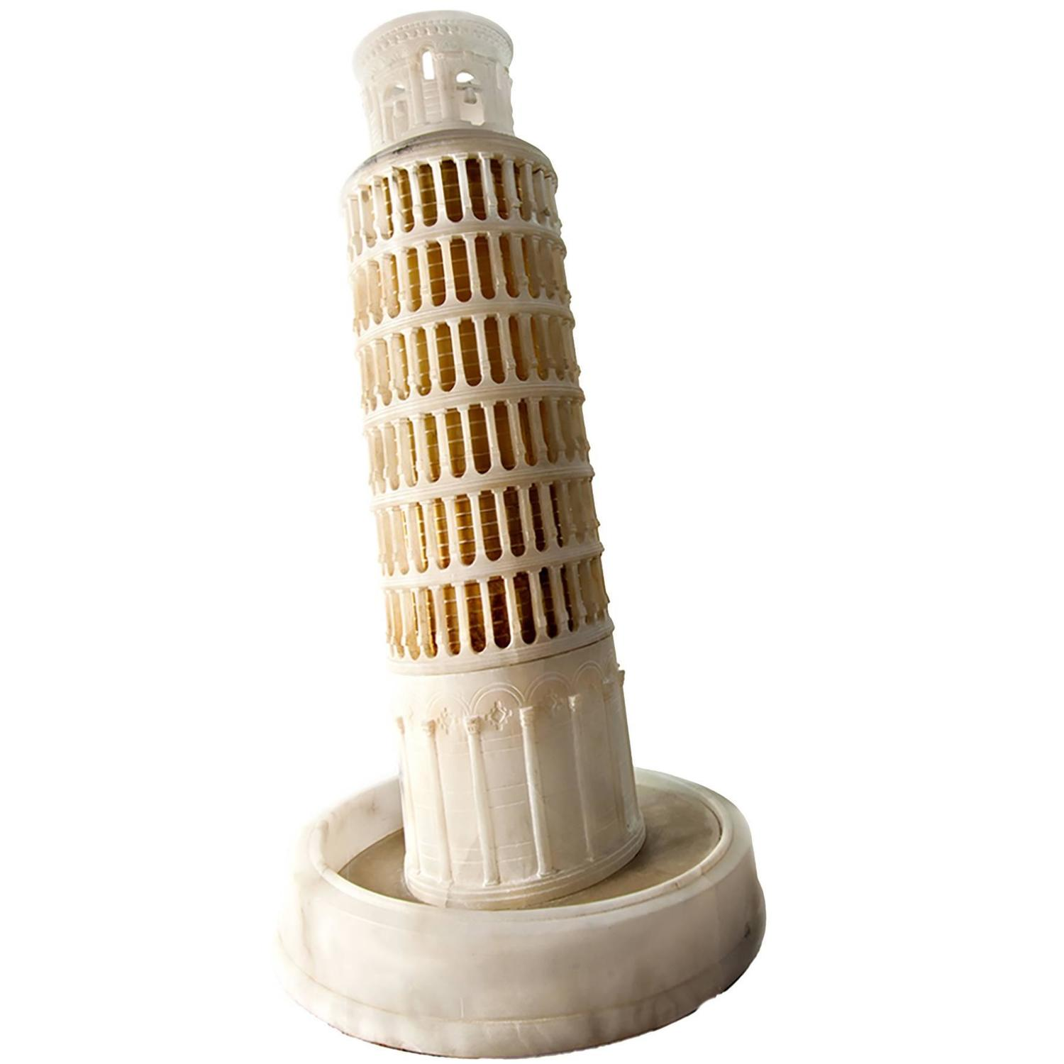 how to make a cardboard leaning tower of pisa