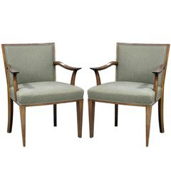 Pair of Armchairs by Bruno Paul