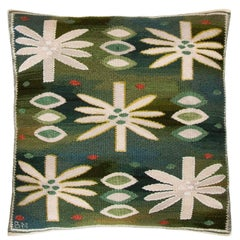 "Barbro Nilsson Textile Throw Pillow ""Water Lillies"" Näckrosorna"