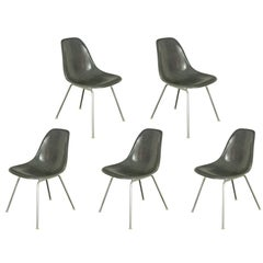 Charles and Ray Eames for Herman Miller Gray Shell Chairs