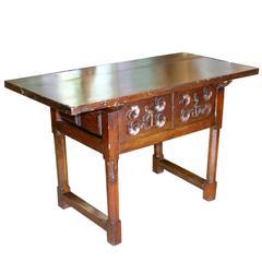 18th C. Spanish Baroque Table