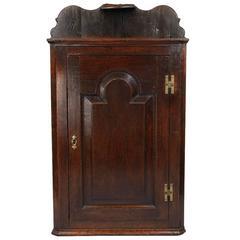 Small Early Georgian Corner Cupboard