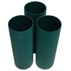 Alcoa Anodized Aluminum Vases