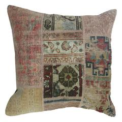 Rug Patchwork Pillow