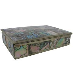 Abalone Box by Alpaca of Mexico