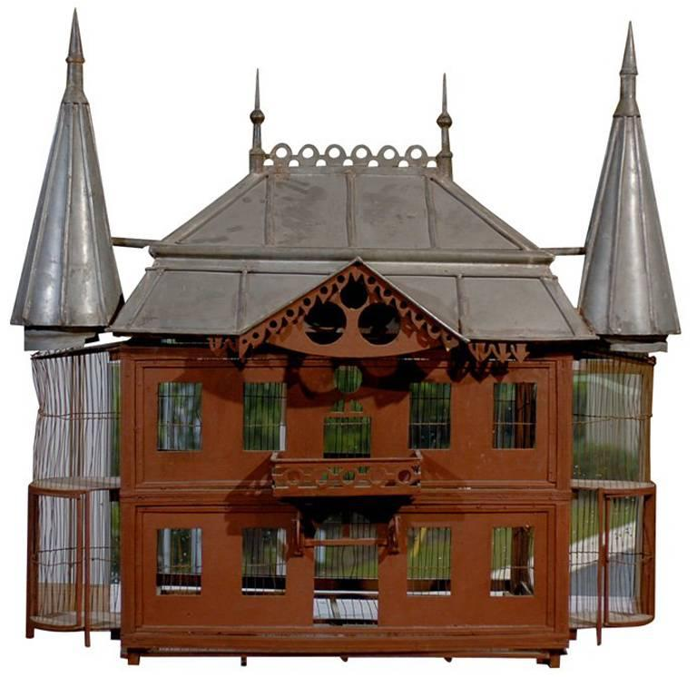 19th Century French Chateau Birdcage