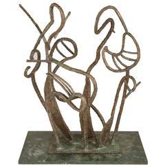 """""""Arboreal"""" Bronze Sculpture by Marie Zoe Greene-Mercier"""