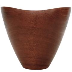 Danish Hand-Turned Bowl in the Style of Finn Juhl