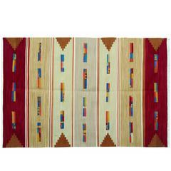 Modern Kilim Rugs, Afghan Kilim Rugs, Flat-Weave Rug from Afghanistan